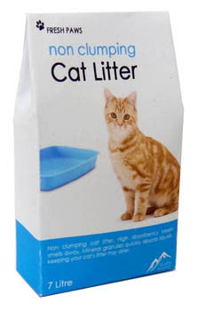 Bag of Cat Litter