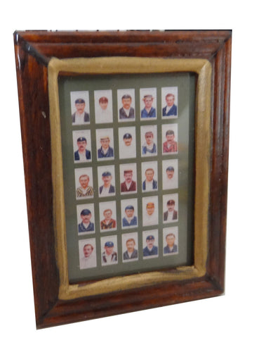Wills Cricketers Cigarette Cards