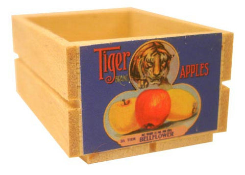 Large Crate - Tiger Apples