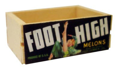 Small Crate - Foot High Melons