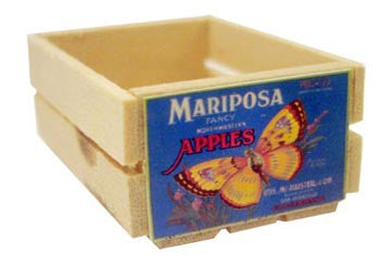 Small Crate - Mariposa Apples