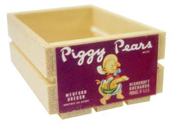 Small Crate - Piggy Pears