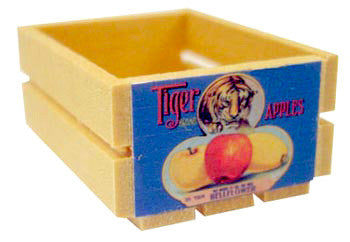 Small Crate - Tiger Apples