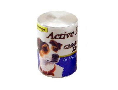 Tin of Dog Food