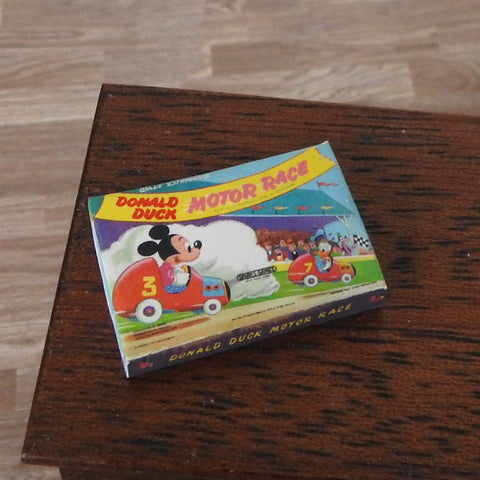 Donald Duck Motor Race Game