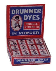 Display Box of Double Strength Drummer Dyes Powder