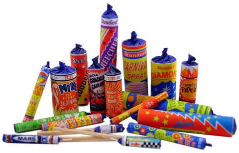 Complete Set of Fireworks