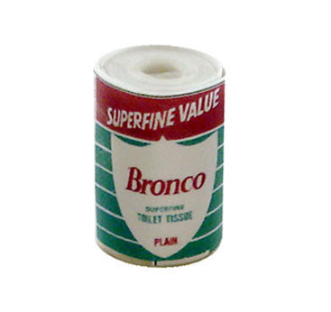 Bronco Plain Toilet Roll