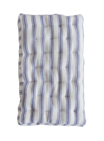 "Mattress - Blue Stripe 6""x 3½"""