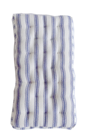 "Mattress - Blue Striped 6"" x 3"""