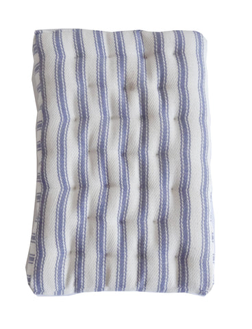 "Mattress - Blue Stripe 6"" x 4"""