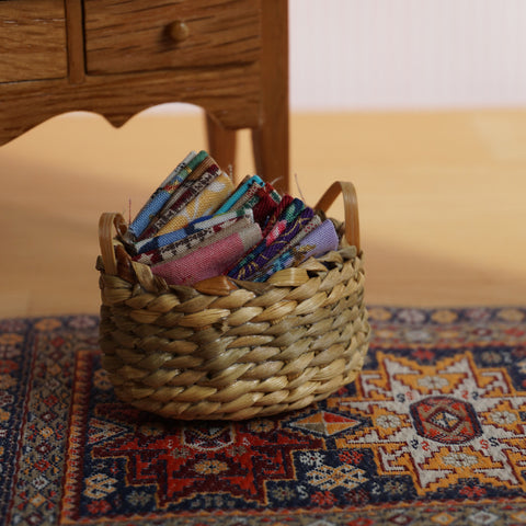 Basket of Fabric Samples