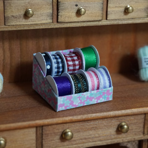 Ribbon Reels Display Box