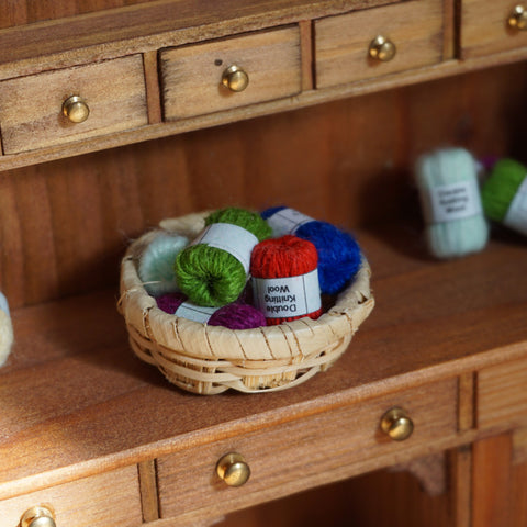 Small Basket of Wool