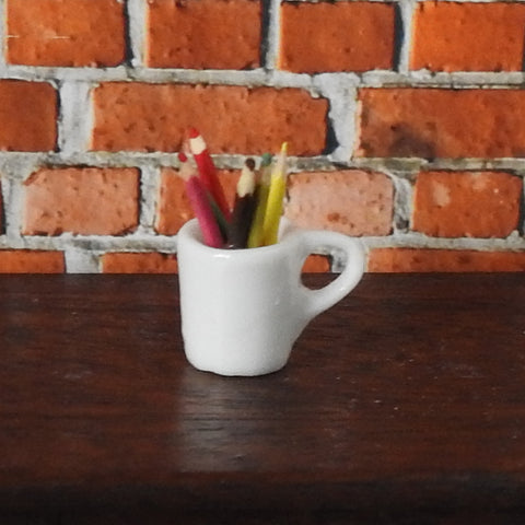 Colouring Pencils in a Mug