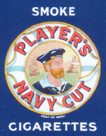 Players Navy Cut Cigarettes Shop Sign