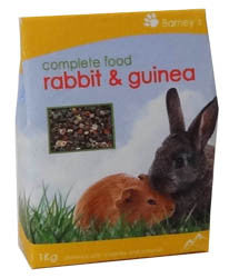 Rabbit & Guinea Pig Food
