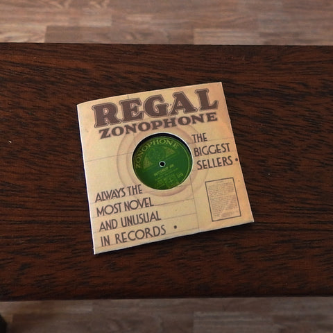 Regal Zonophone Record