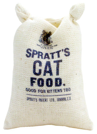 Sack of Spratt's Cat Food