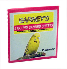 Sanded Sheets - Round