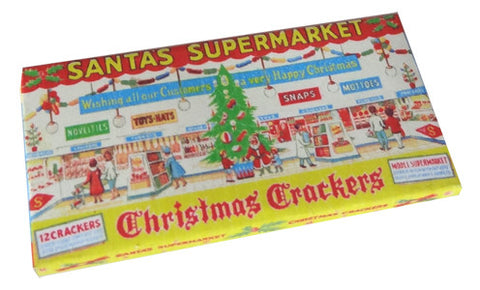 Santa's Supermarket Christmas Crackers