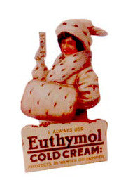 Free Standing Advert  - Euthymol Cold Cream