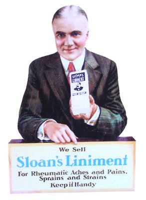 Free Standing Sign - Sloans's Liniment