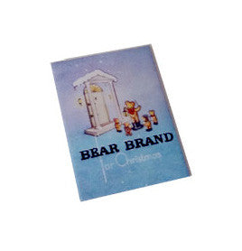 Bear Brand for Christmas Stockings