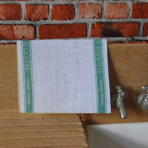 Green Tea Towel
