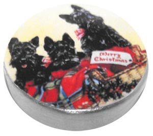 Scottie Dogs Tin
