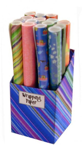 Wrapping Paper Box - Blue