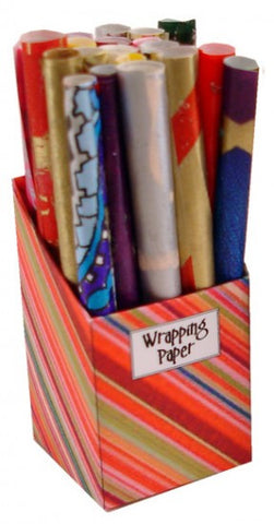 Wrapping Paper Box - Red