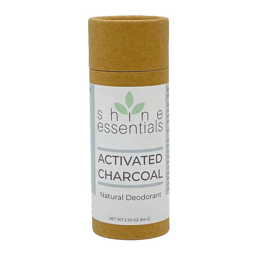 Activated Charcoal Natural Organic Deodorant