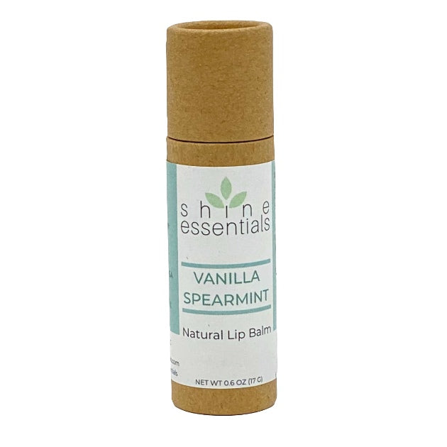 Vanilla Spearmint Natural Organic Lip Balm