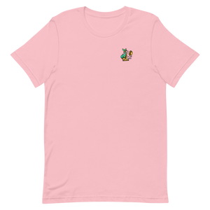 Fish Scale Logo Tee - Pink