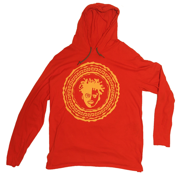Light Hoodie - Red/Yellow Logo