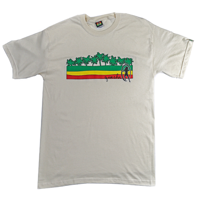 Quashi Ital Bar Vintage T - Off White