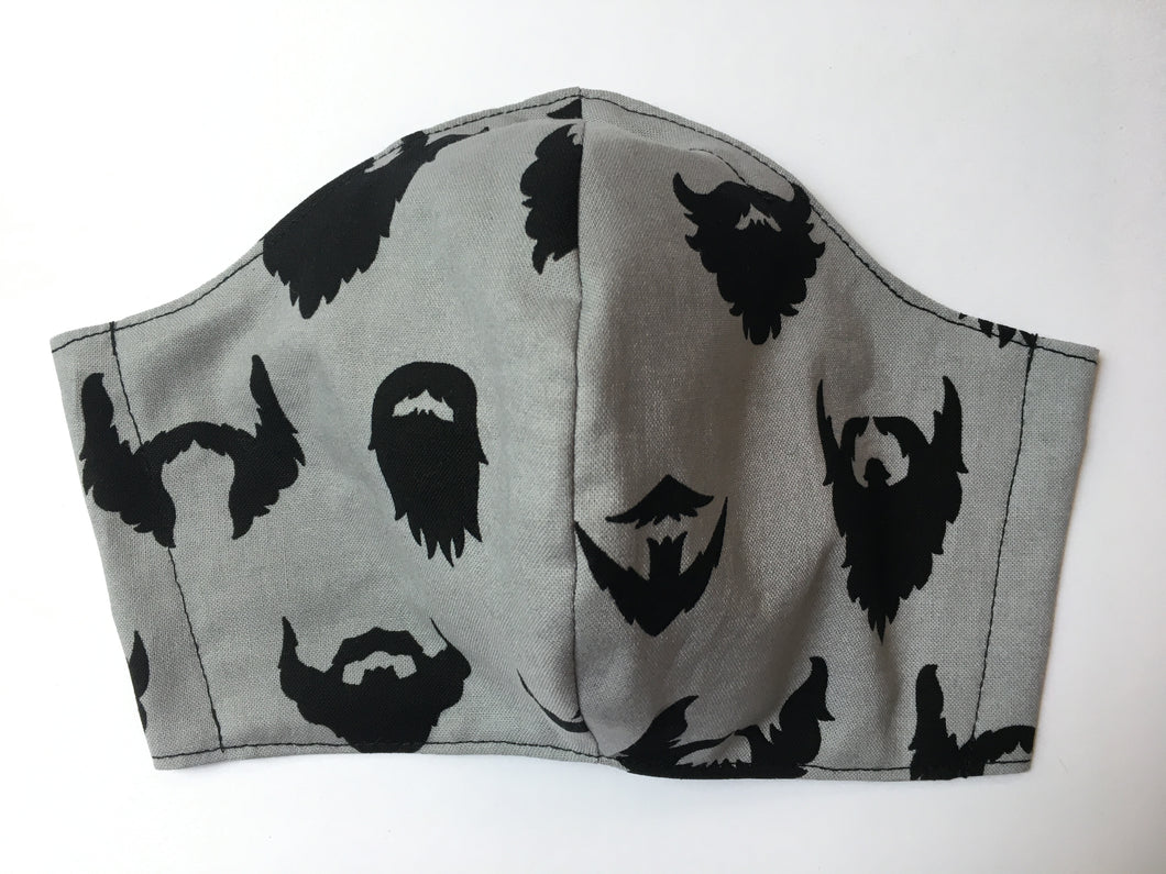 Beards - Adult Sized Mask Roomy