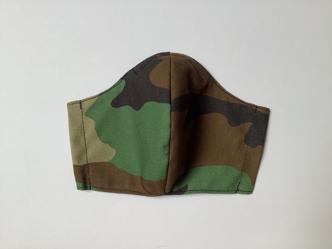 Classic Camo Print - Adult Sized Mask Roomy