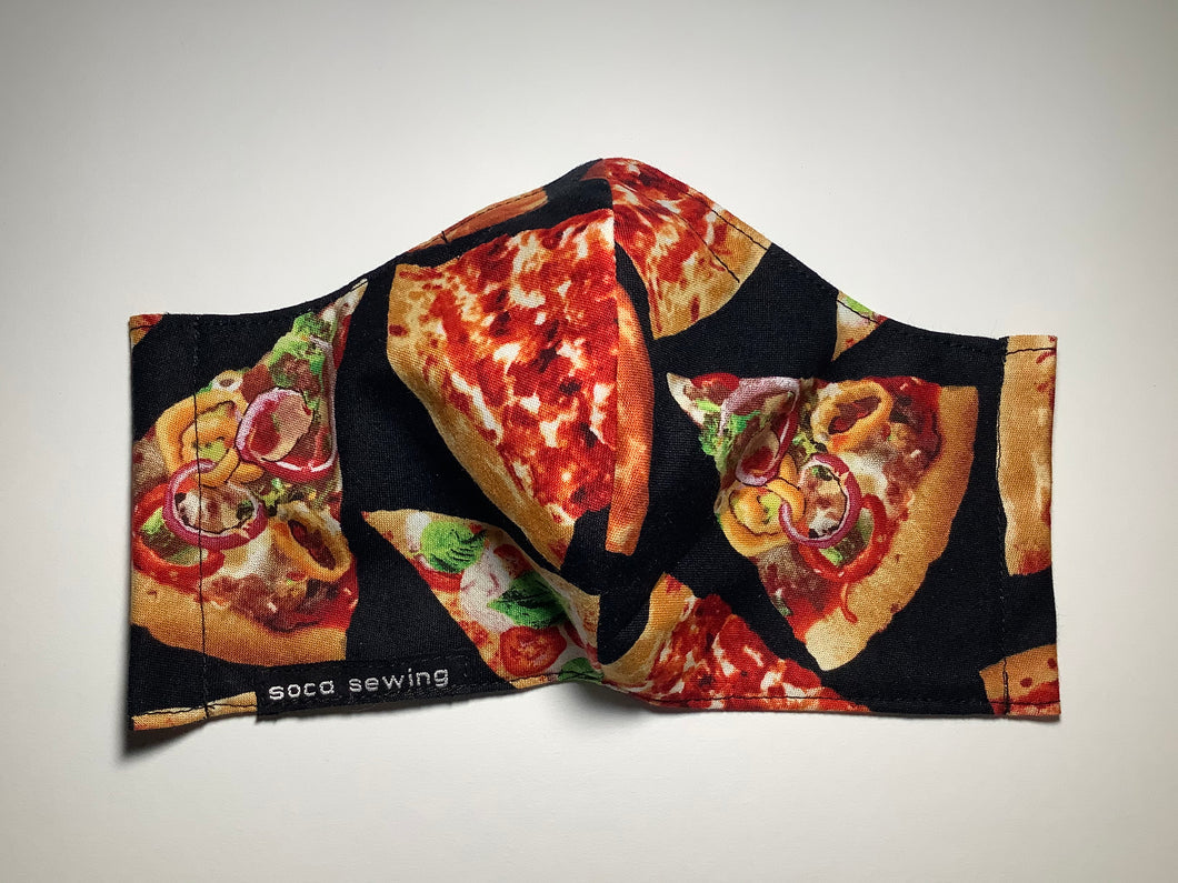 Pizza Party - Adult Sized Mask Regular