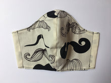 Charger l'image dans la galerie, Mustaches - Adult Sized Mask Roomy