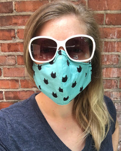 Nerdy Kitties - Adult Sized Mask Regular