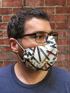 Mustaches - Adult Sized Mask Roomy
