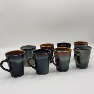 Coffret 8 tasses - Collection Denim, Table Passion