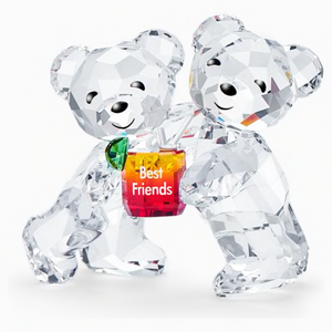 Figurine double oursons my best friends Swarovski