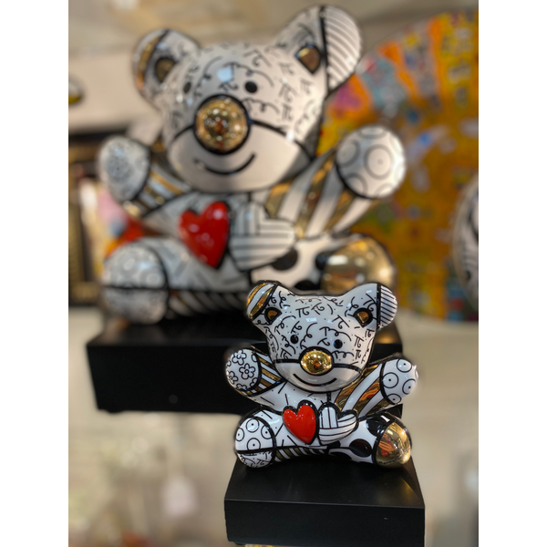 Golden Ours Truly Yours de Romero Britto