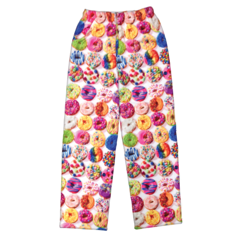 Donuts Plush Pants