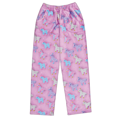 Unicorns and Stars Plush Pants