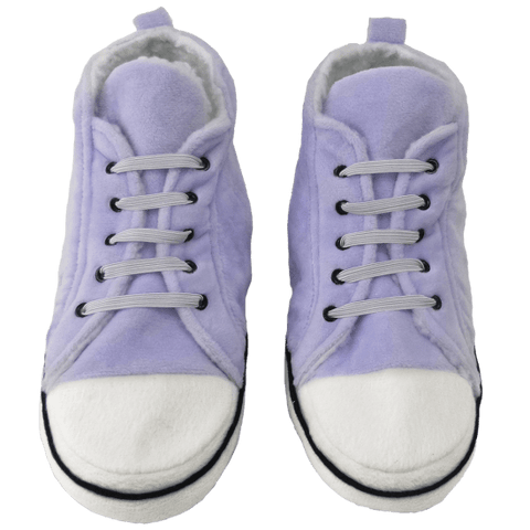 Purple Hi-Top Slippers