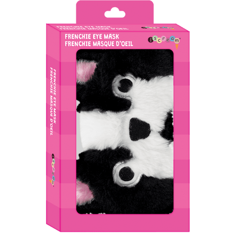 French Bulldog Furry Eye Mask